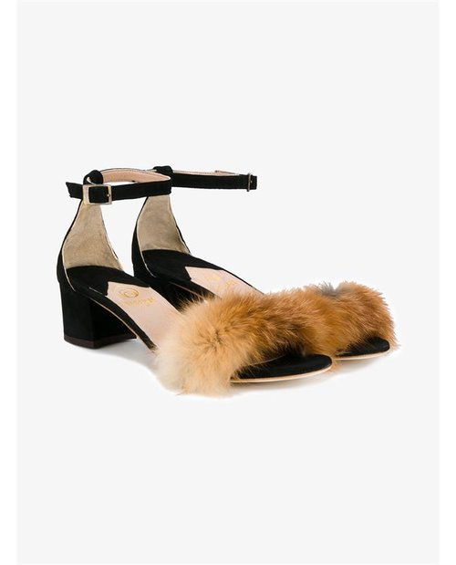 Brother Vellies Dhara Fur Trimmed Sandals $870