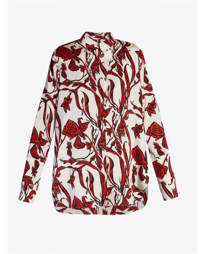 Ellery Visual Wonder floral-print blouse $1,590