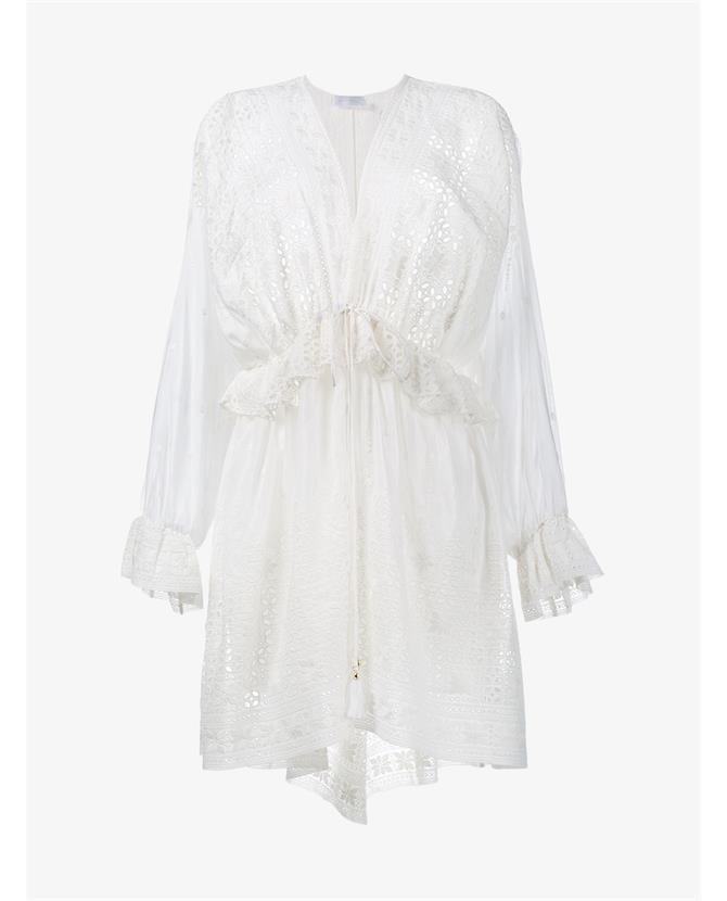 Zimmermann Harlequin Broderie Anglaise Dress $725