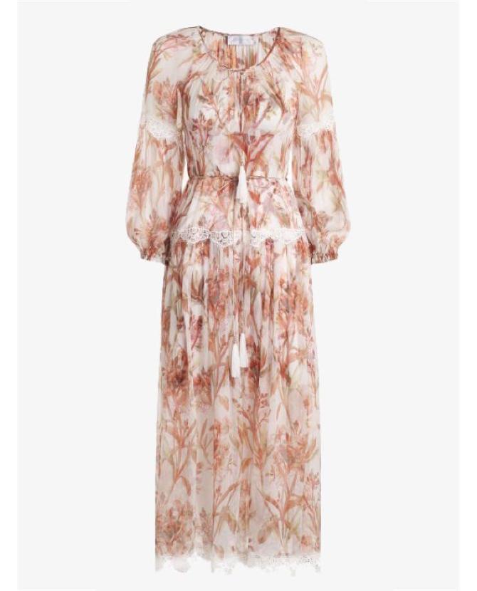 Zimmermann Orleander Crinkle slouch dress $950
