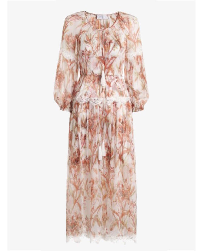 Zimmermann Orleander Crinkle slouch dress $950