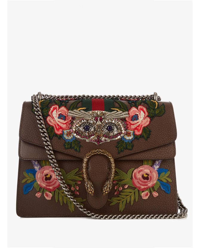 Gucci Dionysus embellished leather shoulder bag $3,647