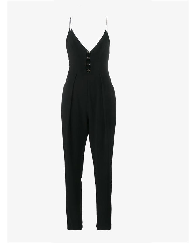 Zimmermann Cut-out embellished jumpsuit $561
