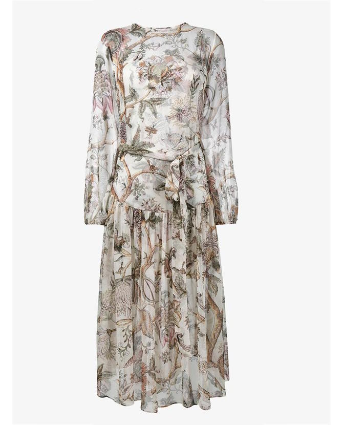 Zimmermann Floral layered gown $841