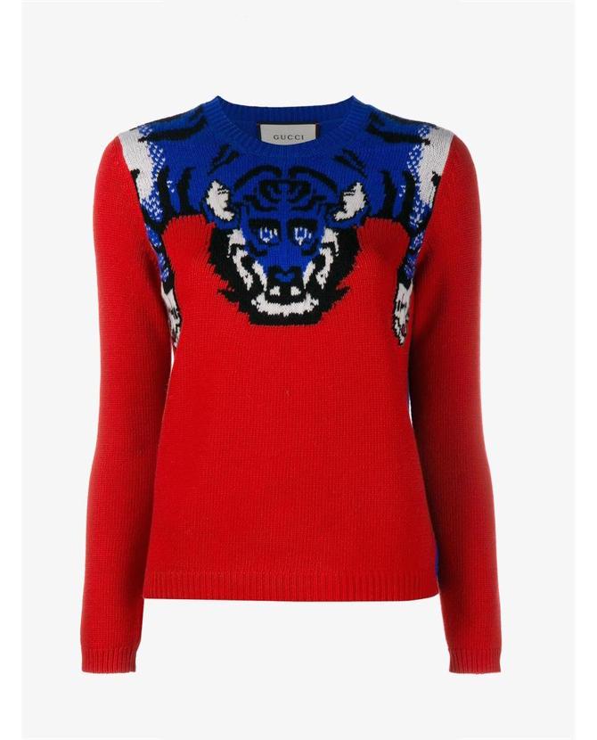Gucci Tiger knit jumper $949