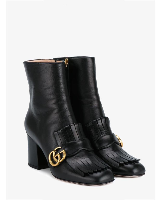 Gucci Fringed ankle boots $949