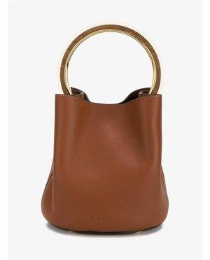 Marni Leather Bucket Bag $2,245