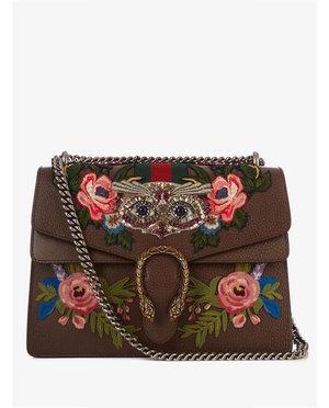 Gucci Dionysus embellished leather shoulder bag $3,647