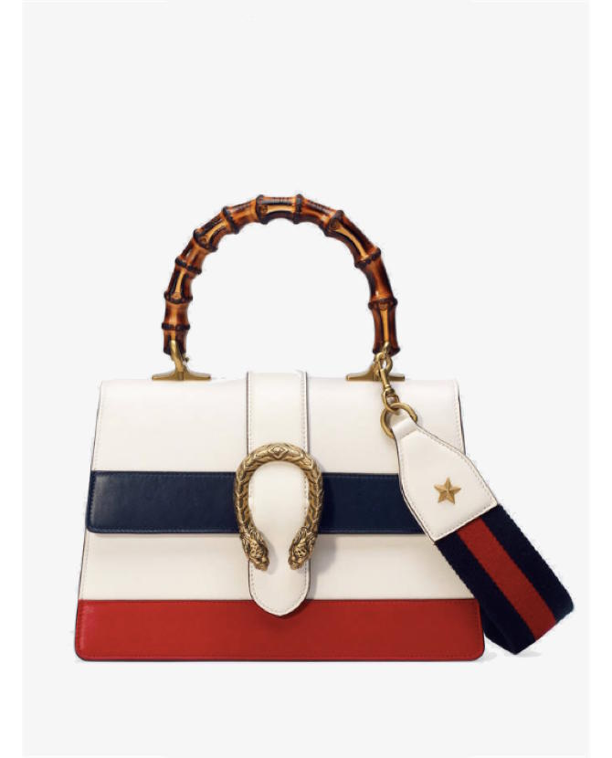 Gucci Dionysus medium bamboo-handle leather bag $3,265
