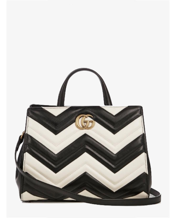Gucci GG Marmont quilted-leather bag $2,468