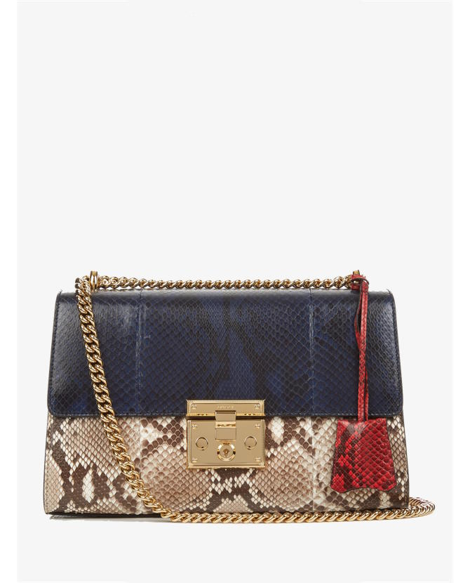 Gucci Padlock python shoulder bag $4,650
