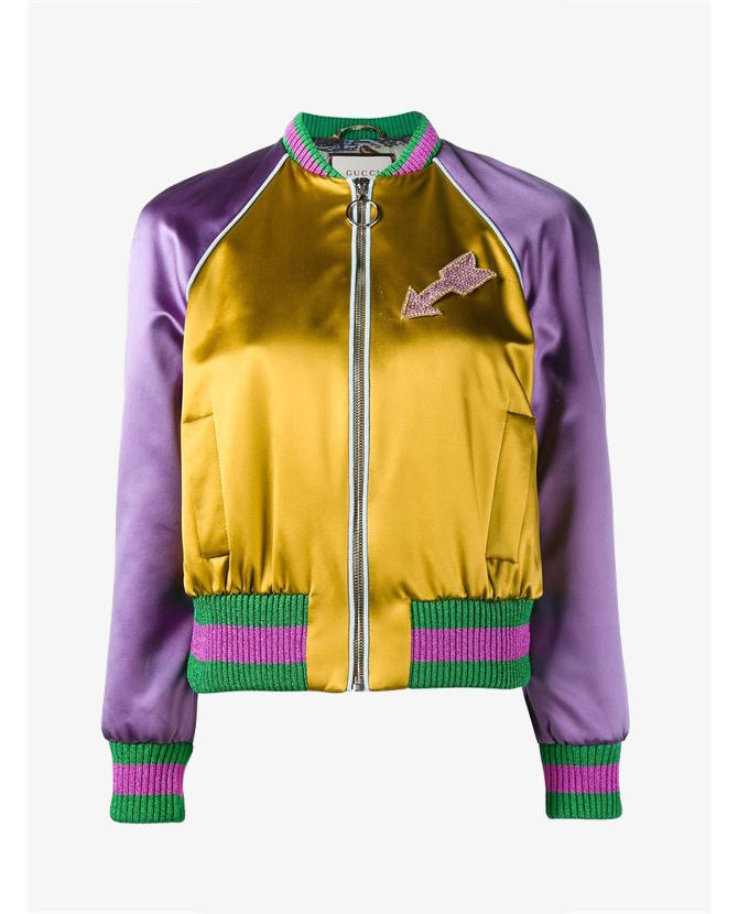 Gucci Embroidered cat bomber jacket $3,280