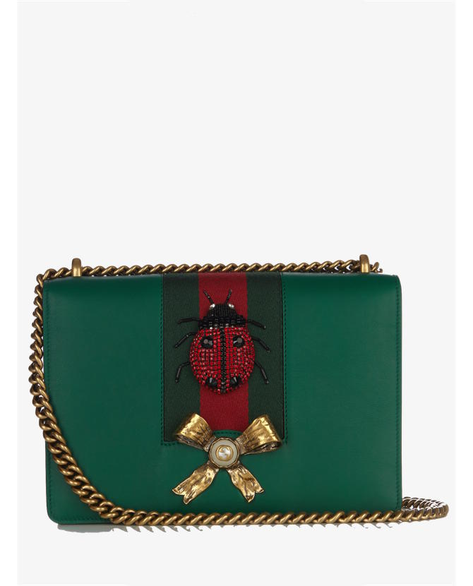 Gucci Peony leather shoulder bag $2,795