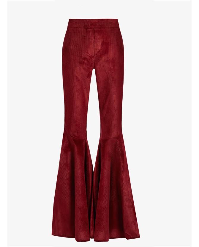 Ellery Jacuzzi high-rise ruffled cuff corduroy trousers $2,880