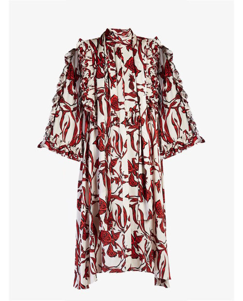 Ellery Pascale ruffled floral-print dress $2,950