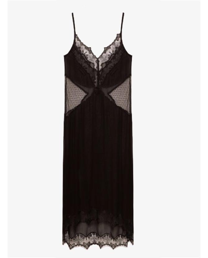 Zara Sheer camisole dress $50
