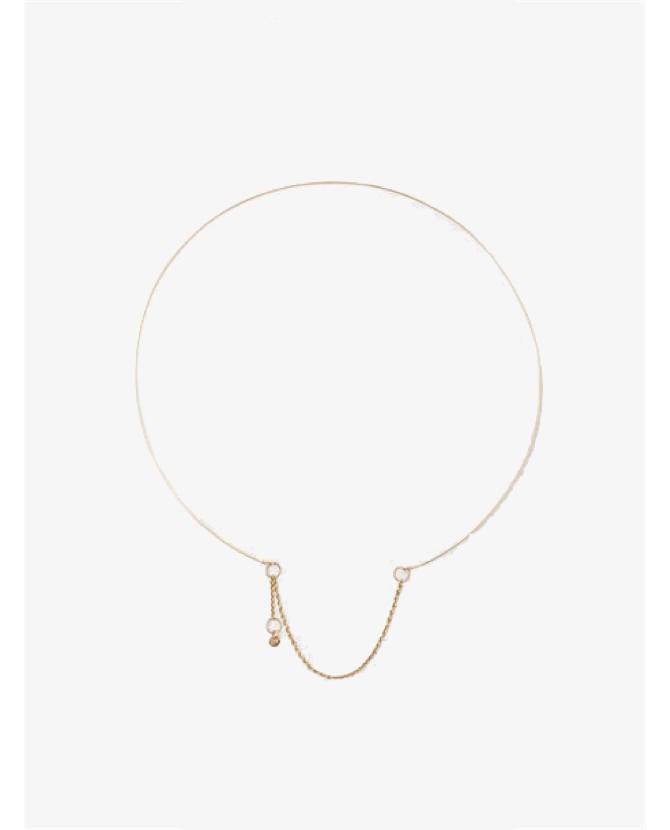 Saskia Diez Wire Necklace $758