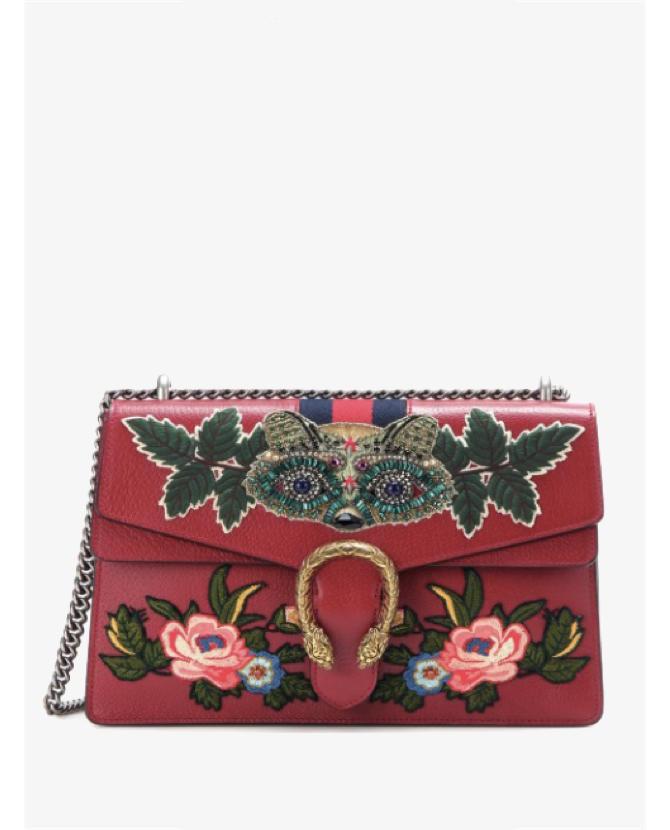 Gucci Dionysus Medium embellished leather shoulder bag $4,852