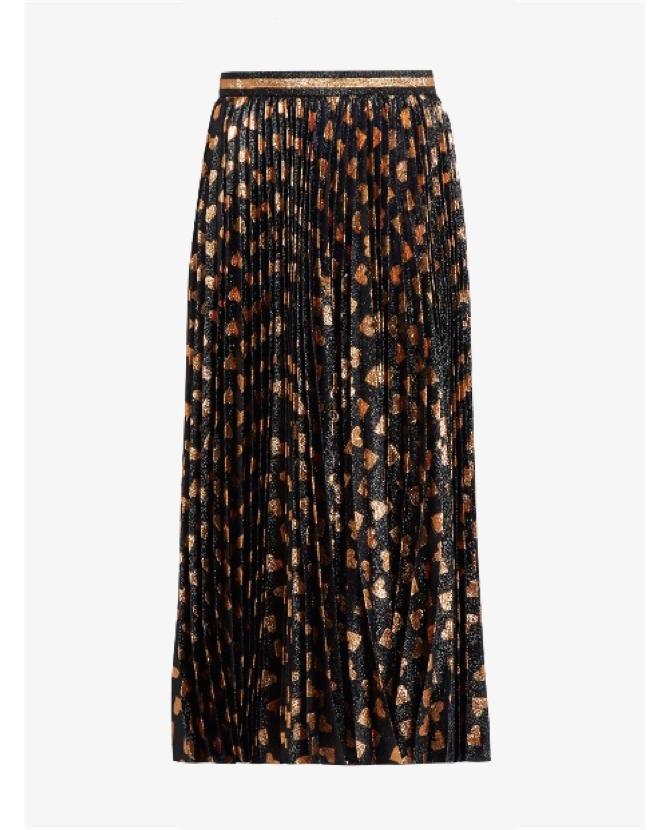Gucci Heart-jacquard midi skirt $2,303