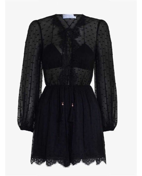 Zimmermann Oleander Lace Playsuit $595