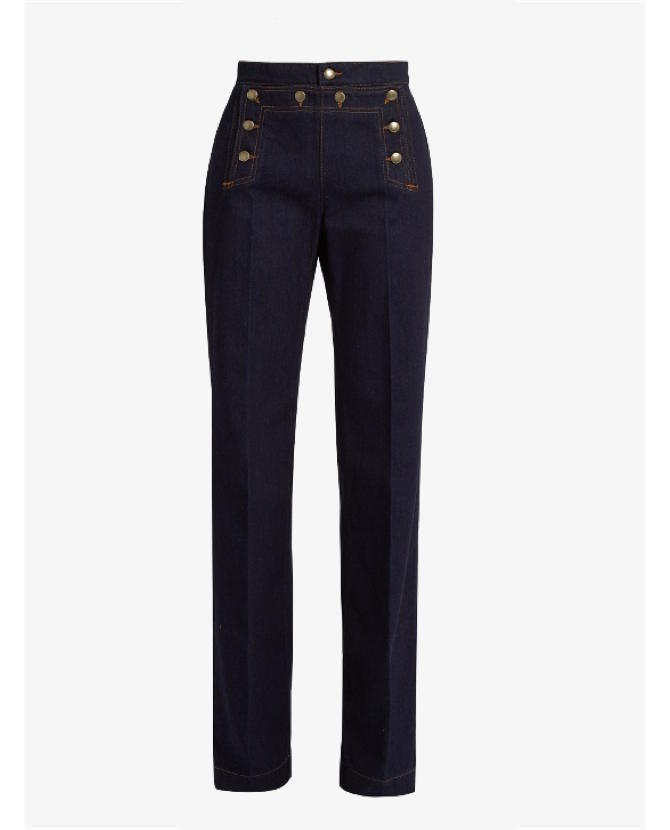 REDValentino High-rise wide-leg jeans $360