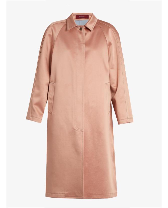 Sies Marjan Ghotus bonded-satin coat $2,394