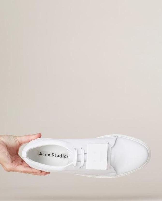 ACNE Studios Leather Adriana Trainers $520