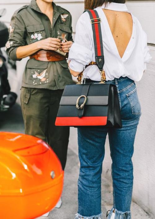 Gucci Dionysus medium bamboo-handle leather bag $2,715
