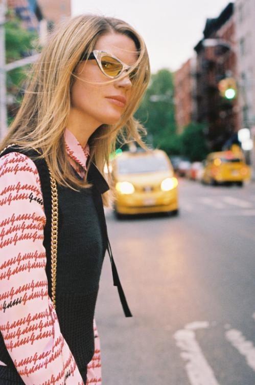 Gucci Gucci-print silk crepe de Chine blouse $1,,002