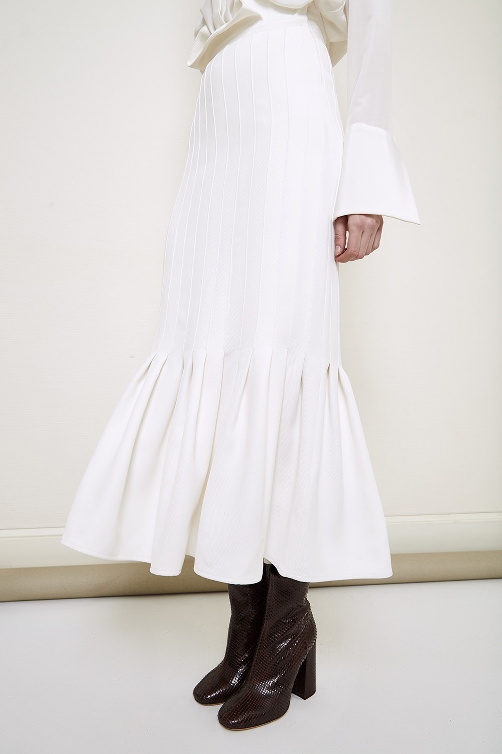 Ellery Rational Pleated Skirt $1,580