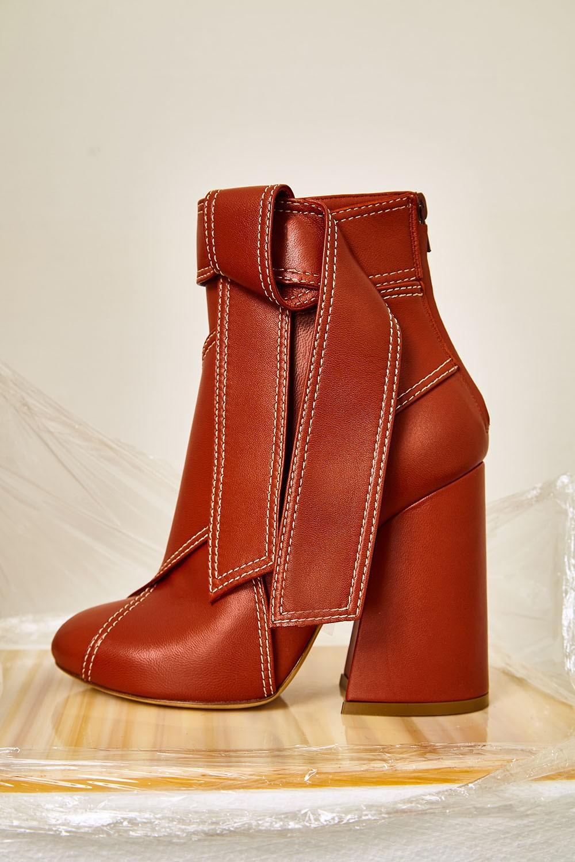 Ellery Suzanna strappy tie boot $1,170