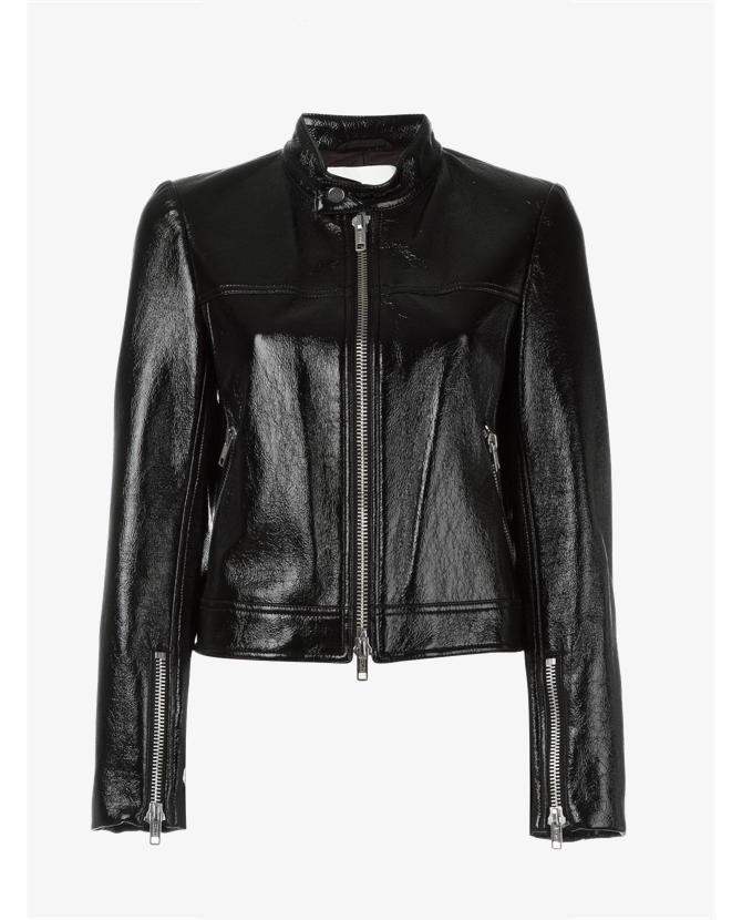 3.1 Phillip Lim Vinyl bomber jacket $978