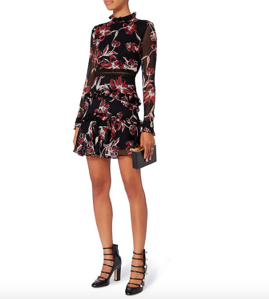 nicholas floral dress