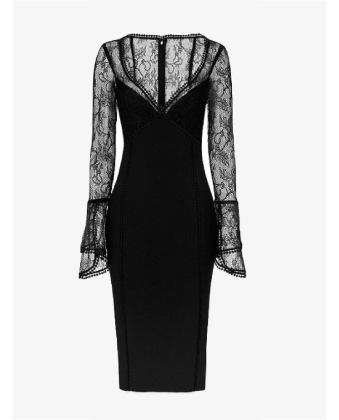 Nicholas Lace bell dress $900