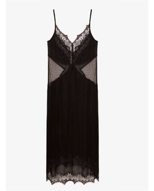 Zara Sheer camisole dress $50