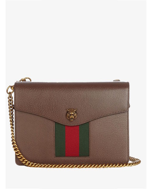 Gucci Animalier grained-leather shoulder bag $1,808
