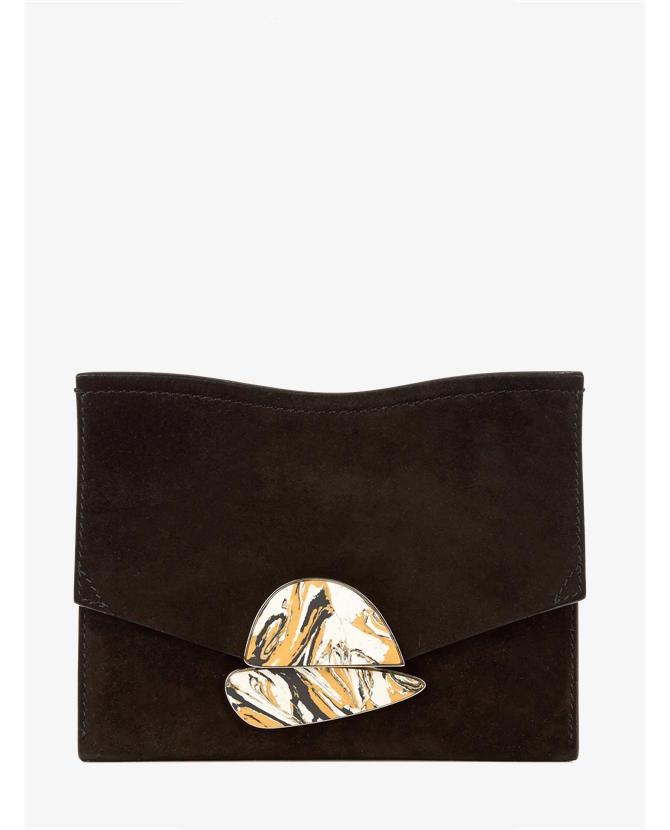 Proenza Schouler Curl small suede clutch $868