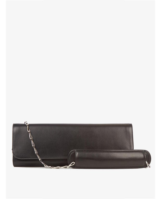 Balenciaga Pochete M leather clutch $2,890