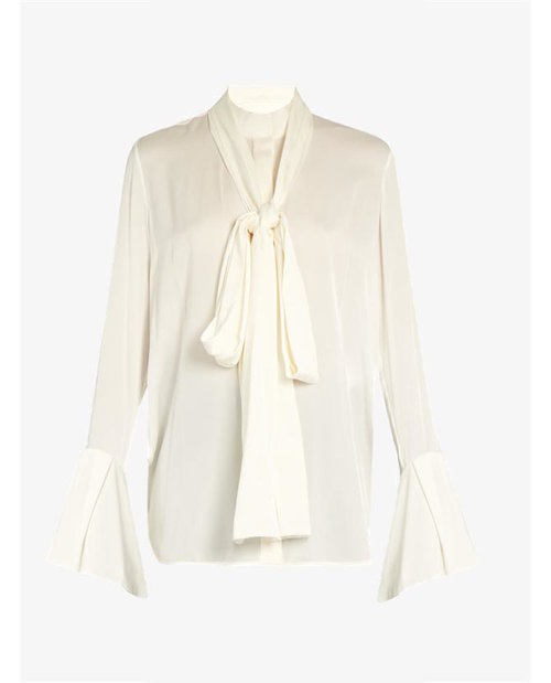 Ellery Little Me double-georgette blouse $1,656