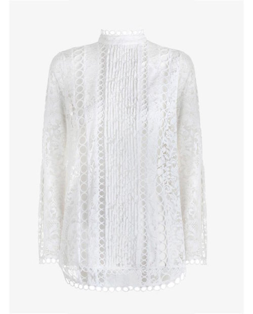 Zimmermann Winsome Breeze Lace Blouse $950