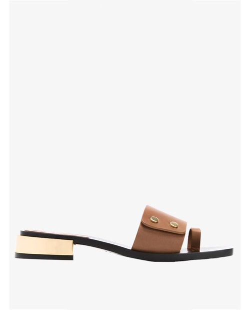 Scanlan Theodore Square toe sandals $450