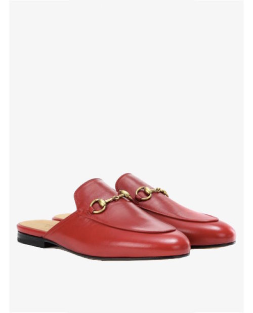 Gucci Princetown leather slippers $765