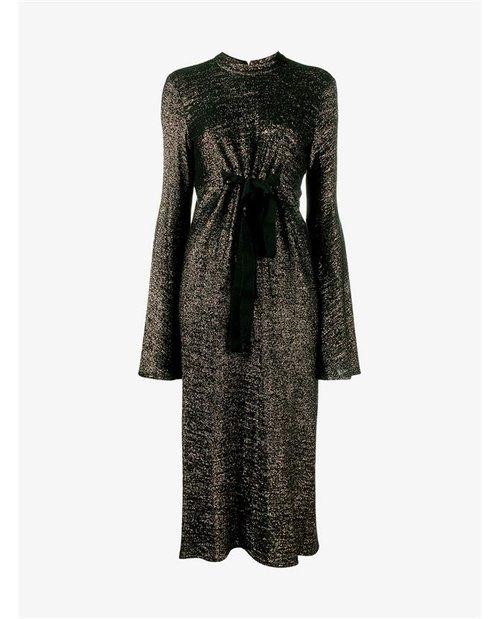 Ellery Long Jersey Lurex Dress $1,695