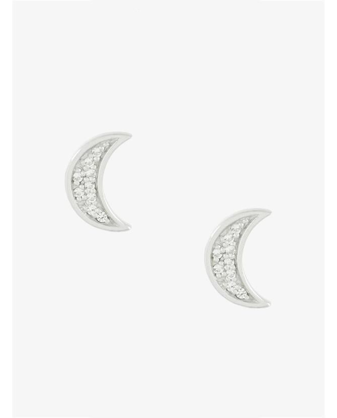 Astley Clarke 'Mini Moon Biography' stud earrings $106