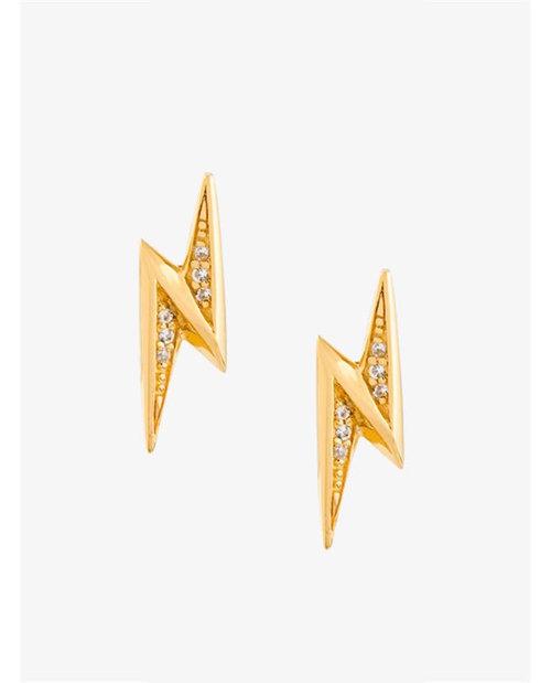 Astley Clarke Mini Lightening Bolt Biography' stud earrings $85