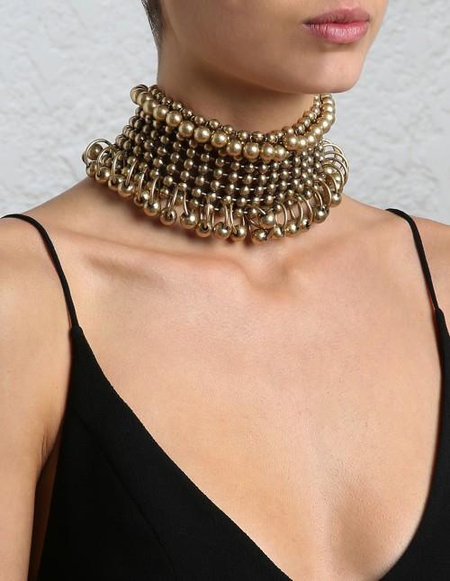 Zimmermann Metal bead collar $495