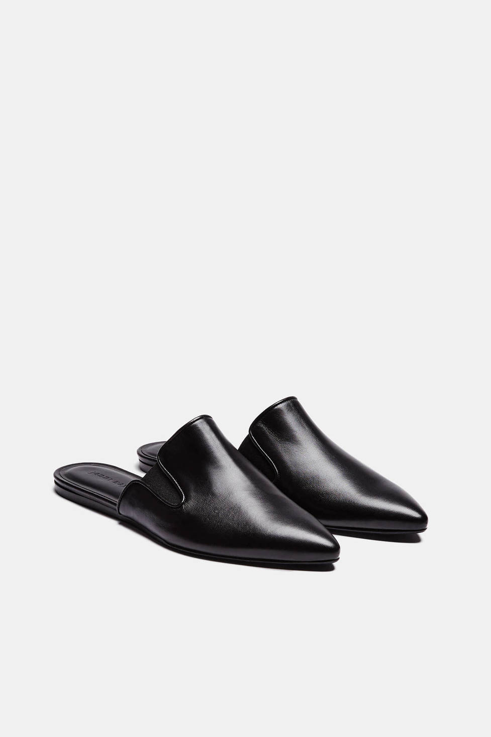 Jenni Kayne Mule - Black Leather $395