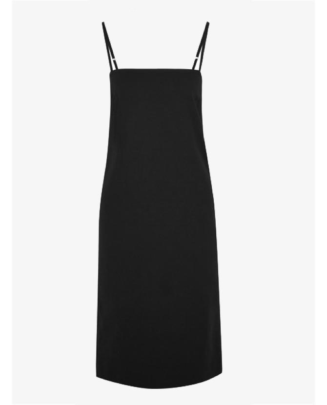 Bassike Cotton-blend crepe midi dress $420