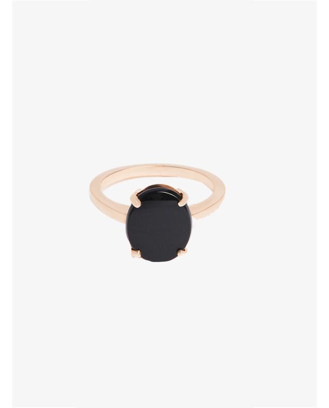 Bassike Fine jewellery oval cut onyx ring $70-