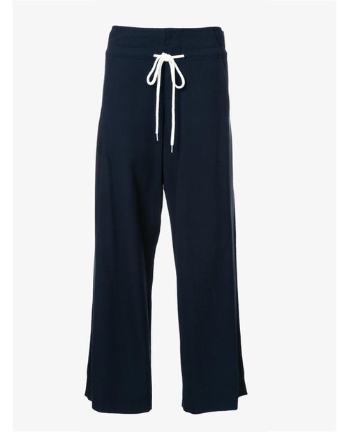 Bassike Wide-legged panelled trousers $695